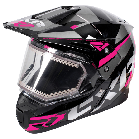 Snowmobile Helmets With Heated Shield