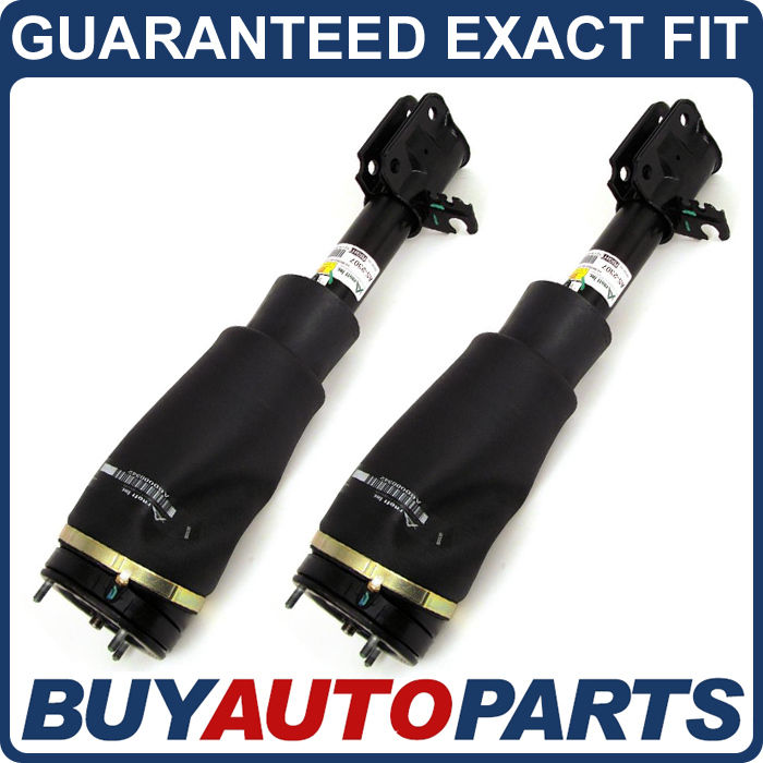 Front Pair Oem Air Strut Spring: PAIR REMANUFACTURED OEM FRONT AIR STRUT SHOCK SPRING