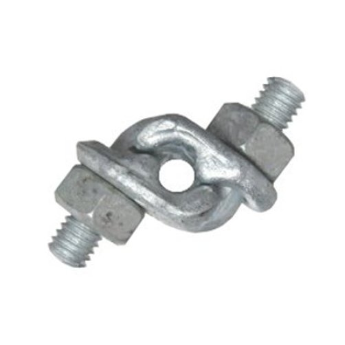 Quot galvanized double grip cable clamp