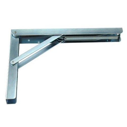 12 heavy duty folding shelf bracket ebay. Black Bedroom Furniture Sets. Home Design Ideas