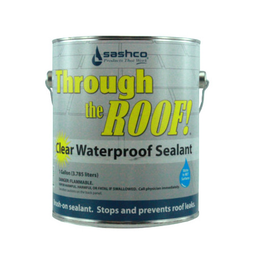 Gallon Through The Roof Clear Brushable Non Asphalt Roof