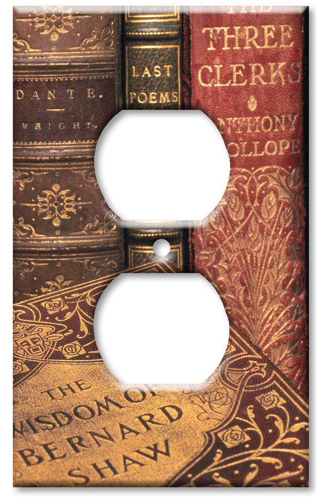 Art Plates Art Plates brand - Books - Outlet Cover Switch Plate