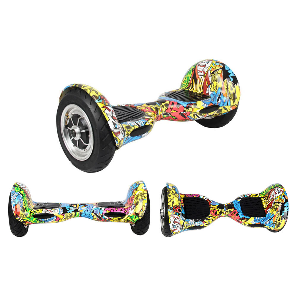 skque 10 hoverboard wheel electric self balancing. Black Bedroom Furniture Sets. Home Design Ideas