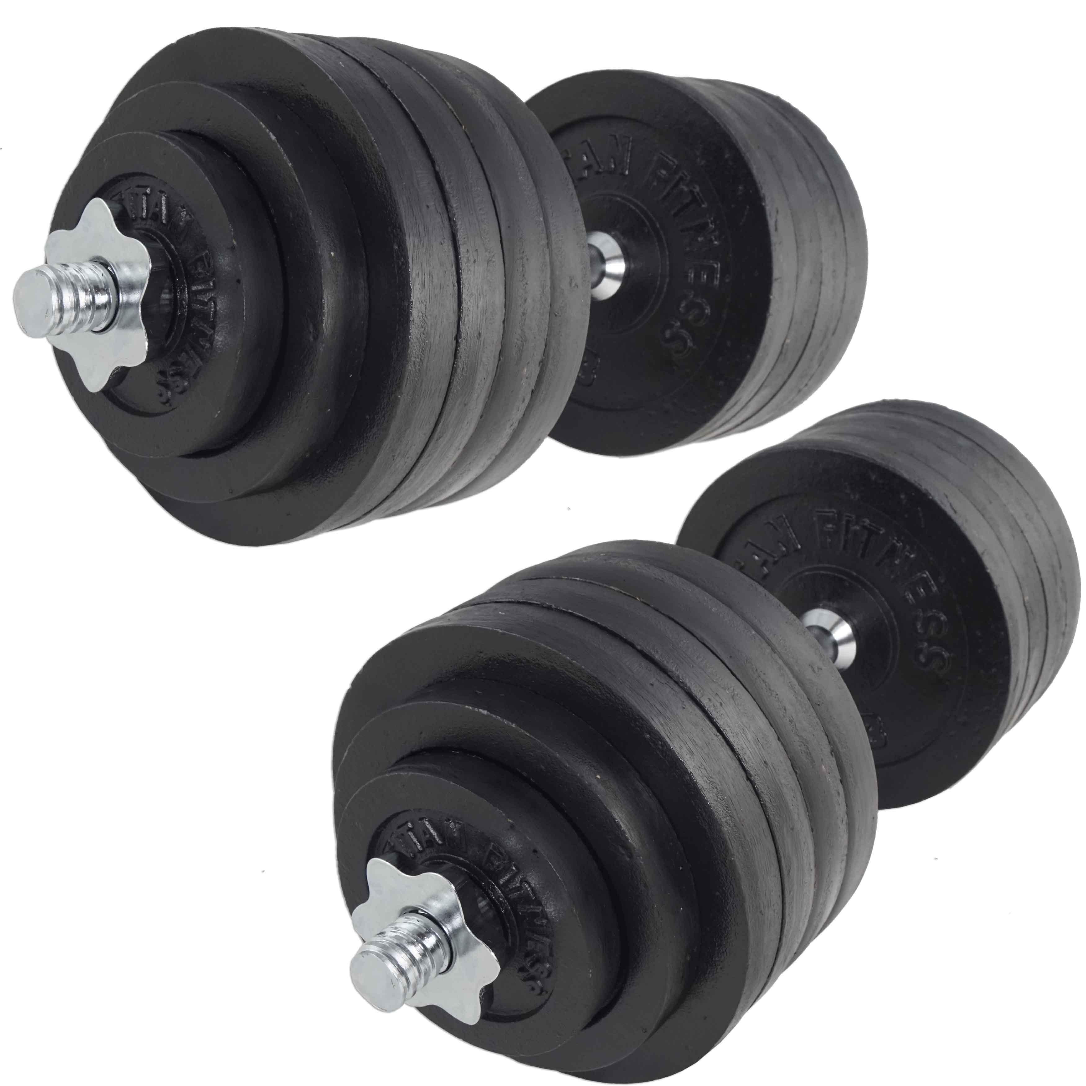 Adjustable 200 Lb Dumbbells: Pair Adjustable Cast Iron Dumbbells Weight 200 Lbs Kit Set