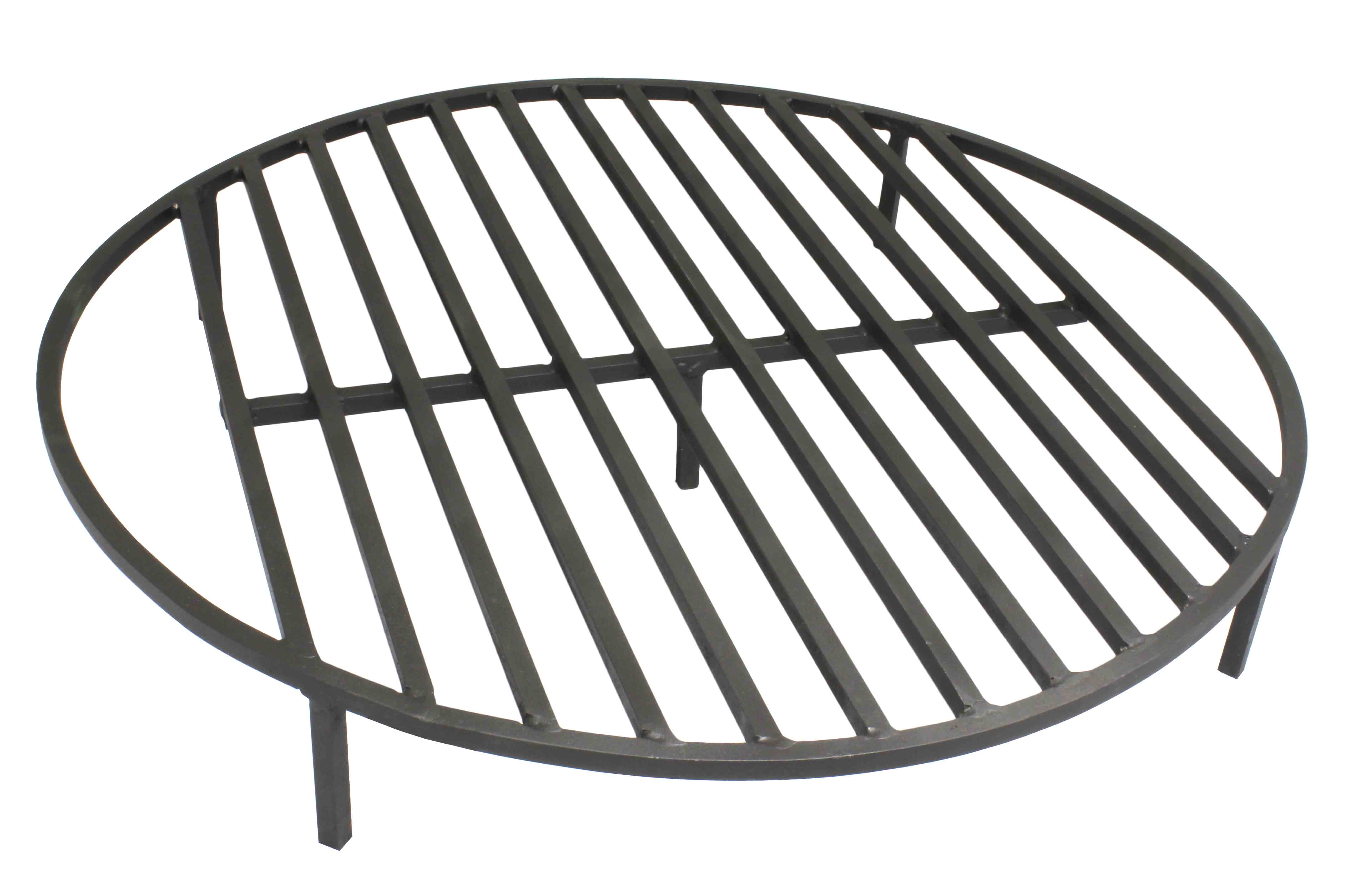 """Round Fire Pit Grate 28"""" Heavy Duty Grill Cooking Campfire ..."""