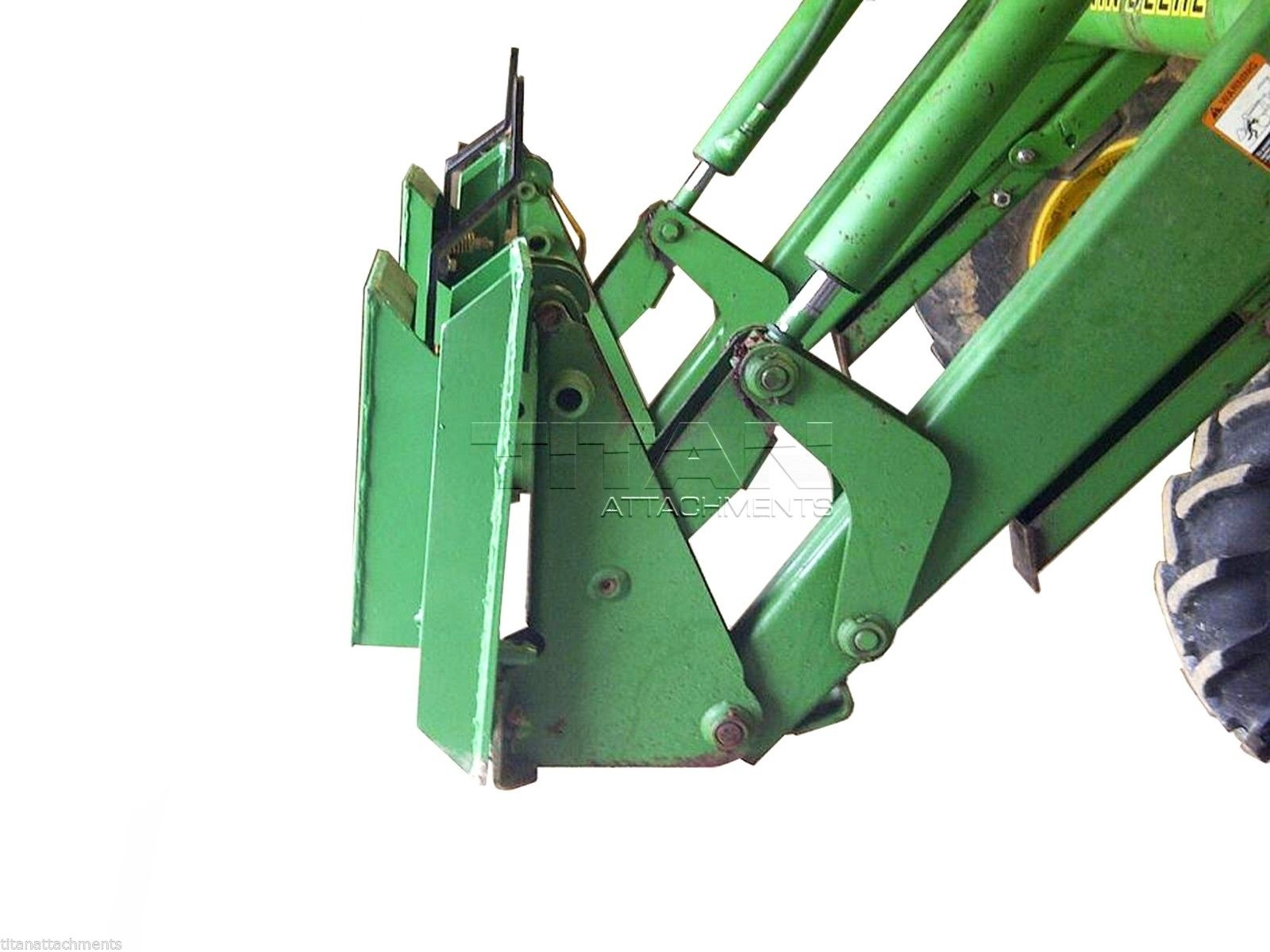 Tractor Loader Adapters : John deere to skid steer quick attach adapter
