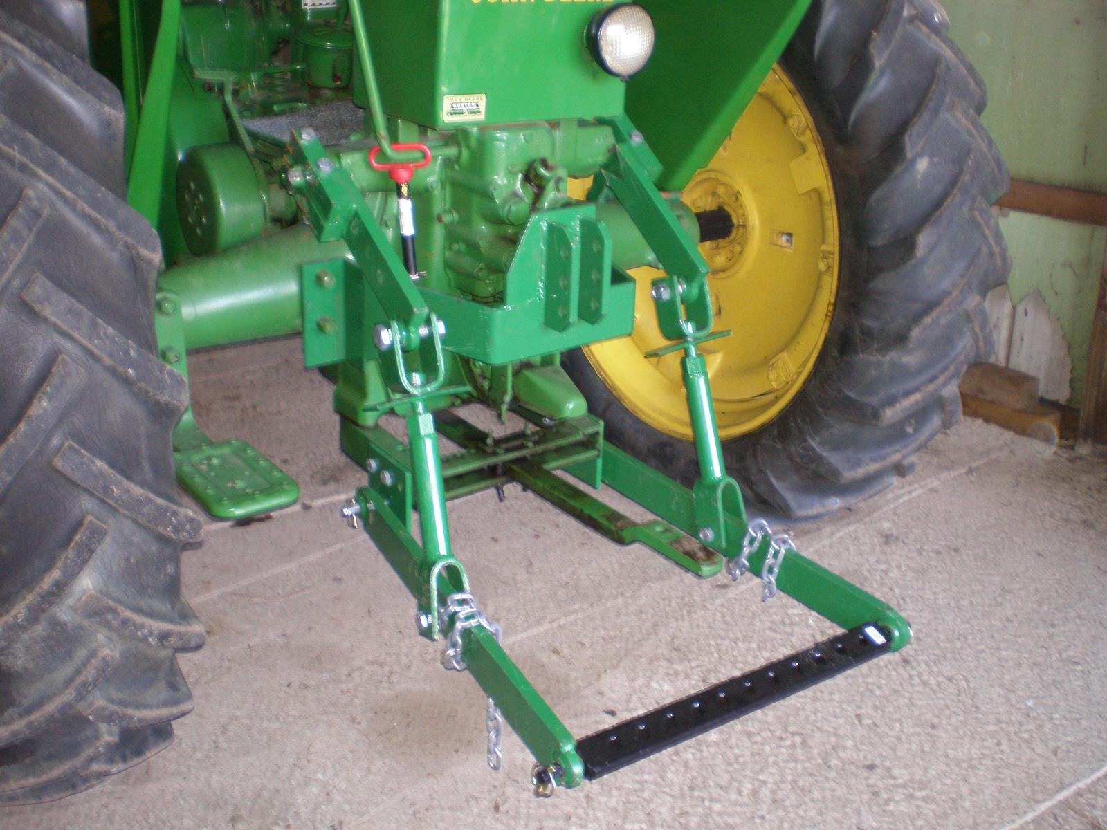Tractor 3 Point Hitch Conversions : John deere b point hitch conversion car interior design