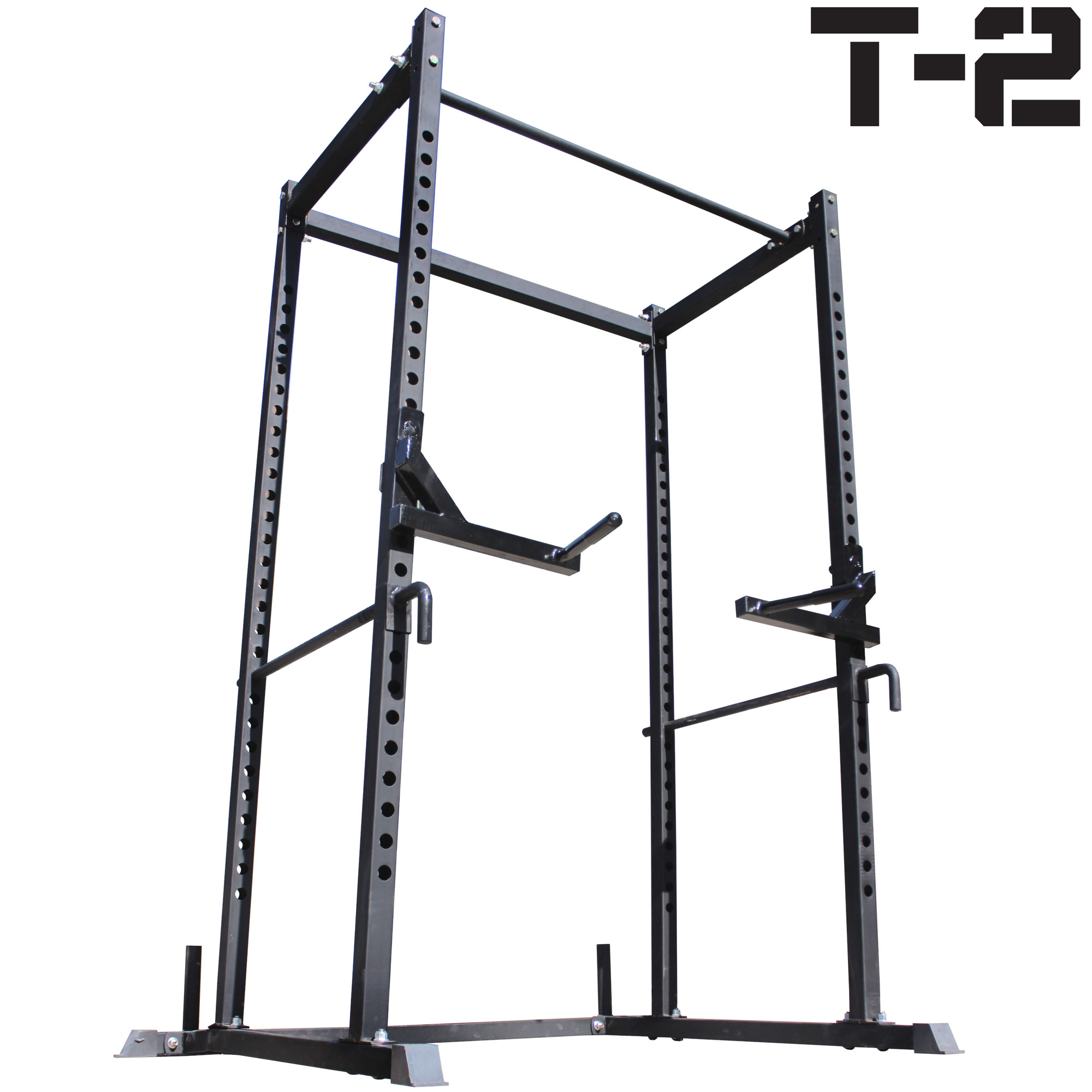 Titan T2 Power Rack Squat Deadlift Lift Cage Bench Racks Cross Fit Stand Pull Up Ebay