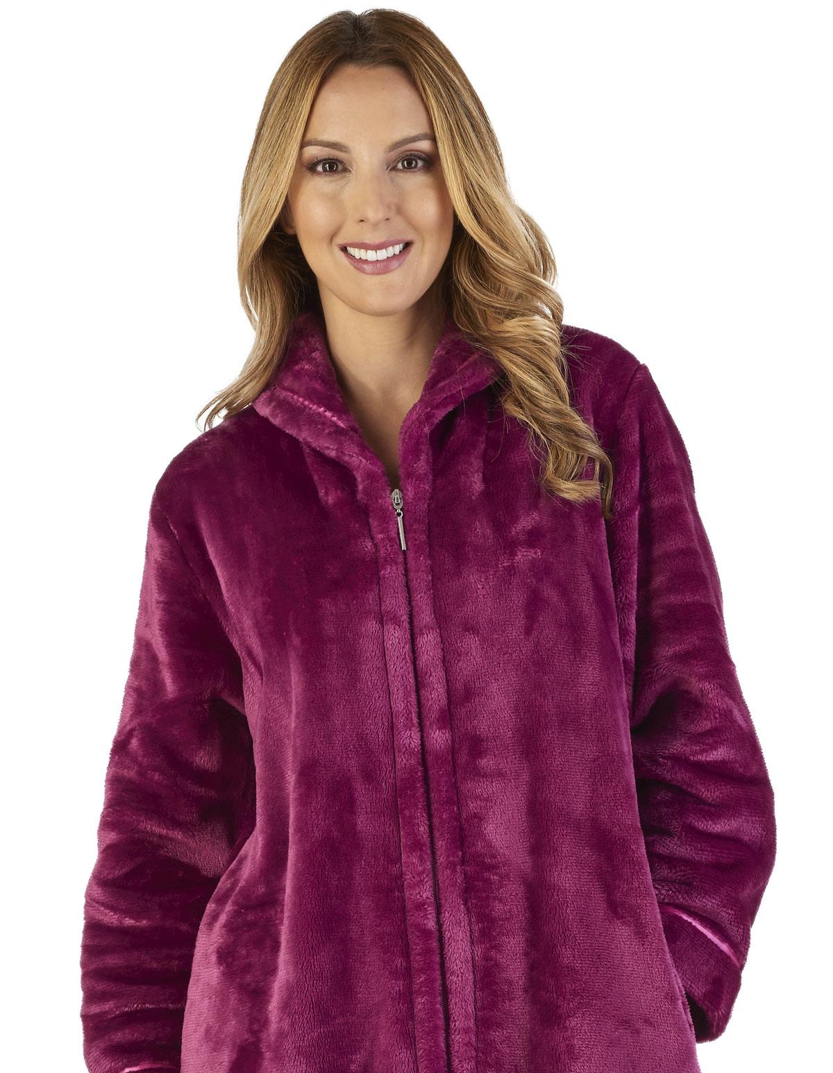 Slenderella HC2345 Luxury Fleece Dressing Gown