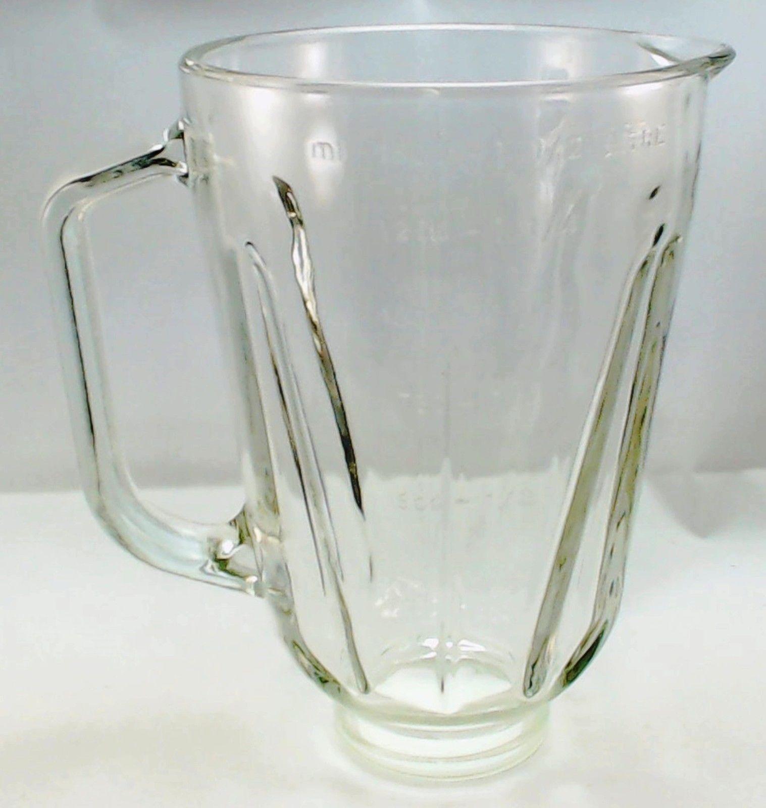 Blenders With Glass Jars ~ Sunbeam oster blender glass jar  model