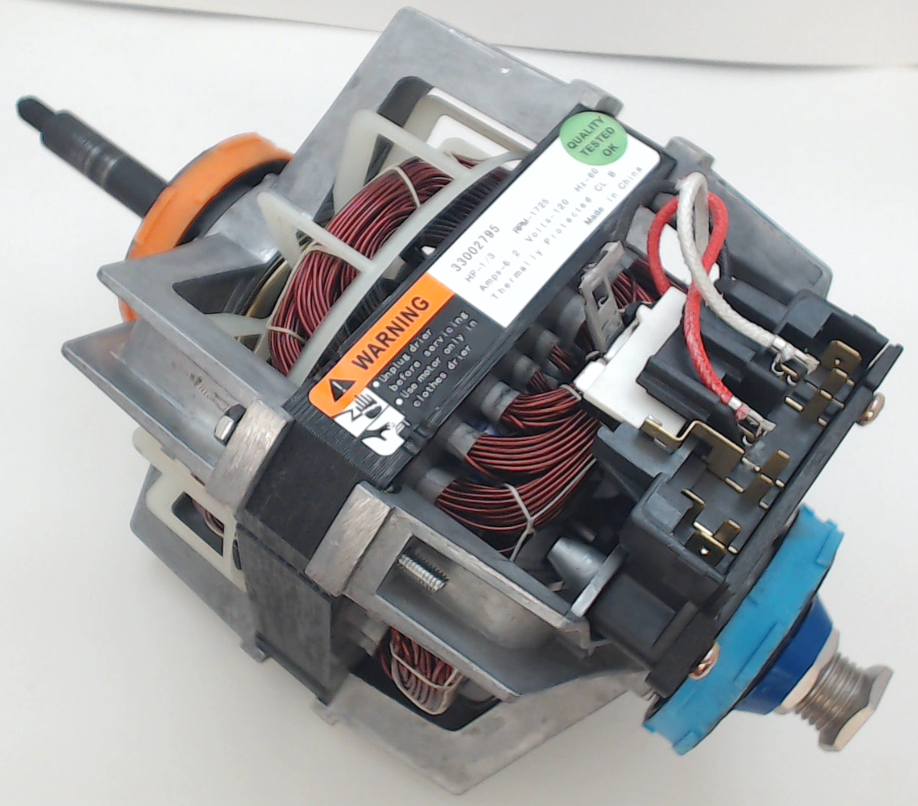 Dryer Motor For Whirlpool Maytag Magic Chef Ap4043081