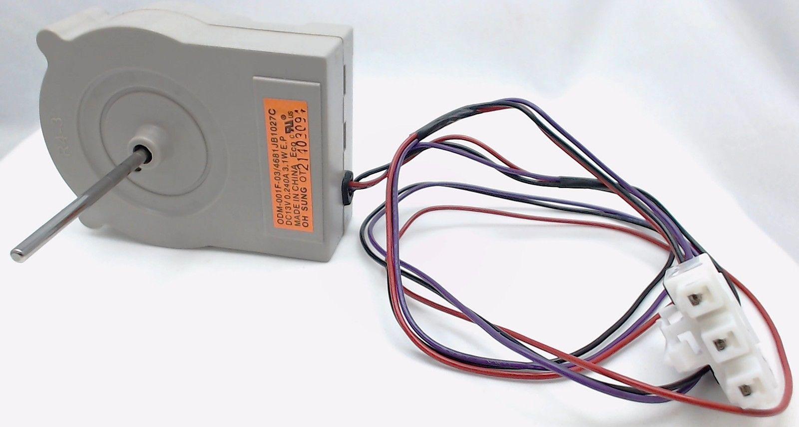 Refrigerator evaporator fan motor for lg ap4507961 for How to test refrigerator evaporator fan motor
