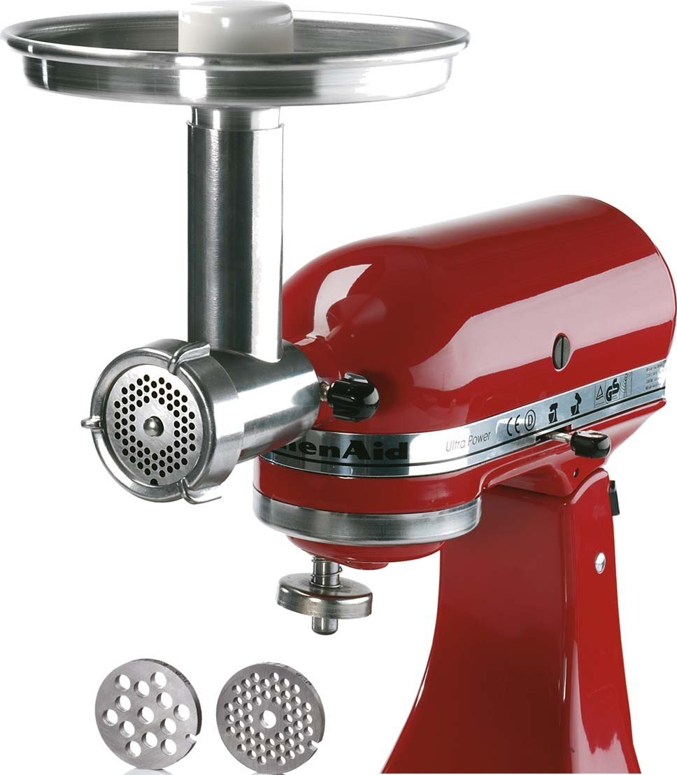 Mixer Grinder Blades : Jupiter metal food grinder attachment for kitchenaid stand