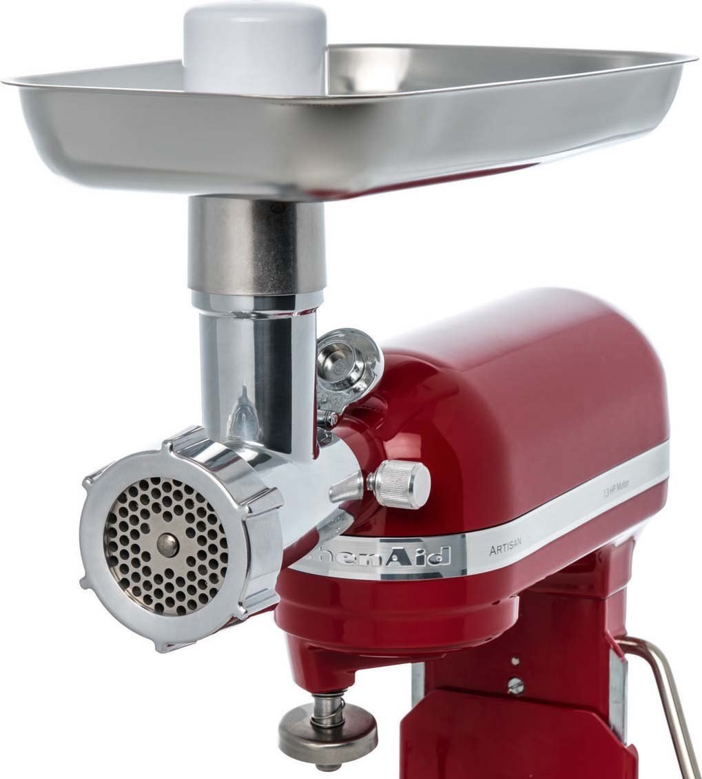 jupiter metal food grinder attachment for kitchenaid stand mixers 478100 ebay. Black Bedroom Furniture Sets. Home Design Ideas