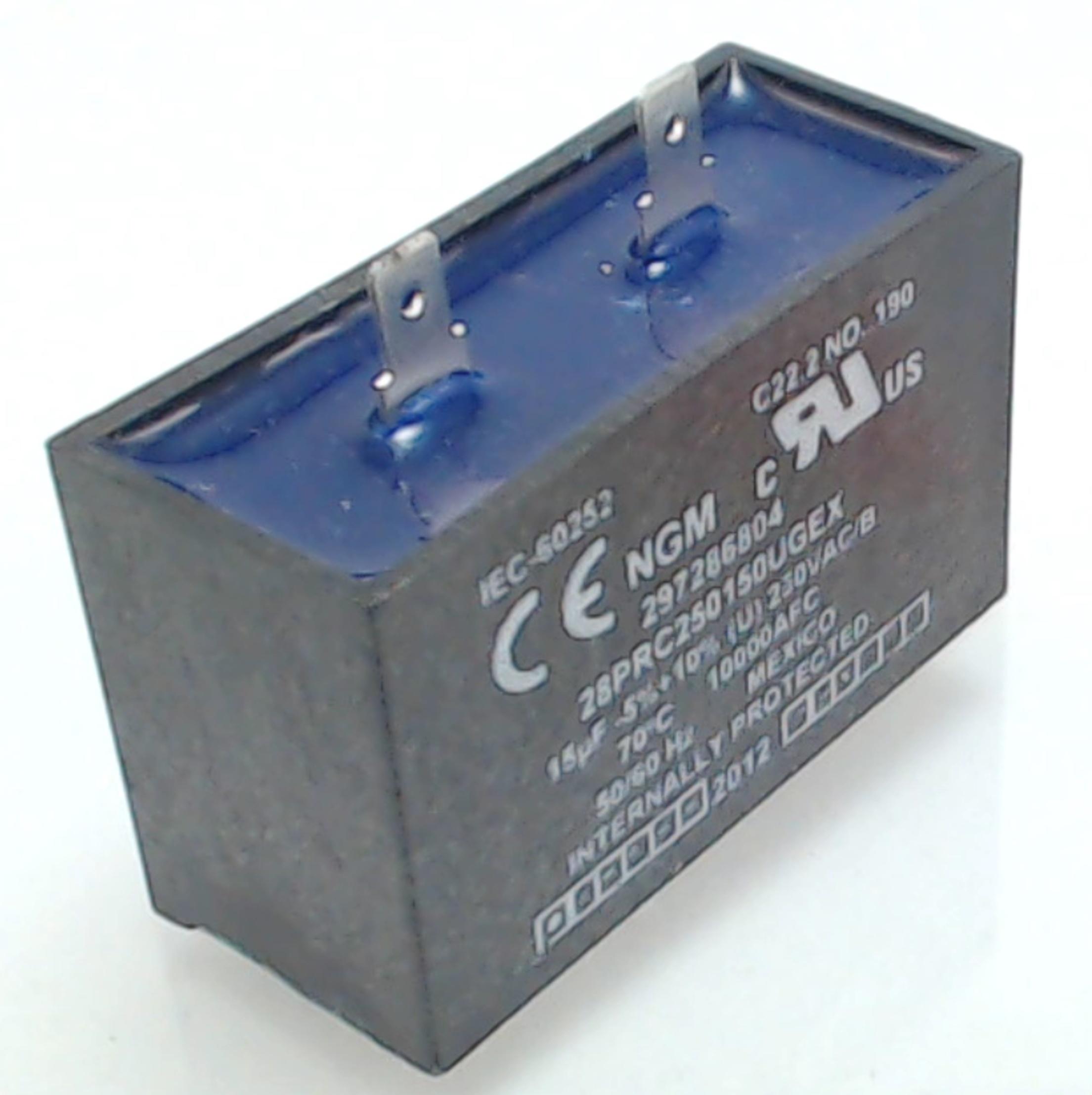 Refrigerator Capacitor For Frigidaire Electrolux