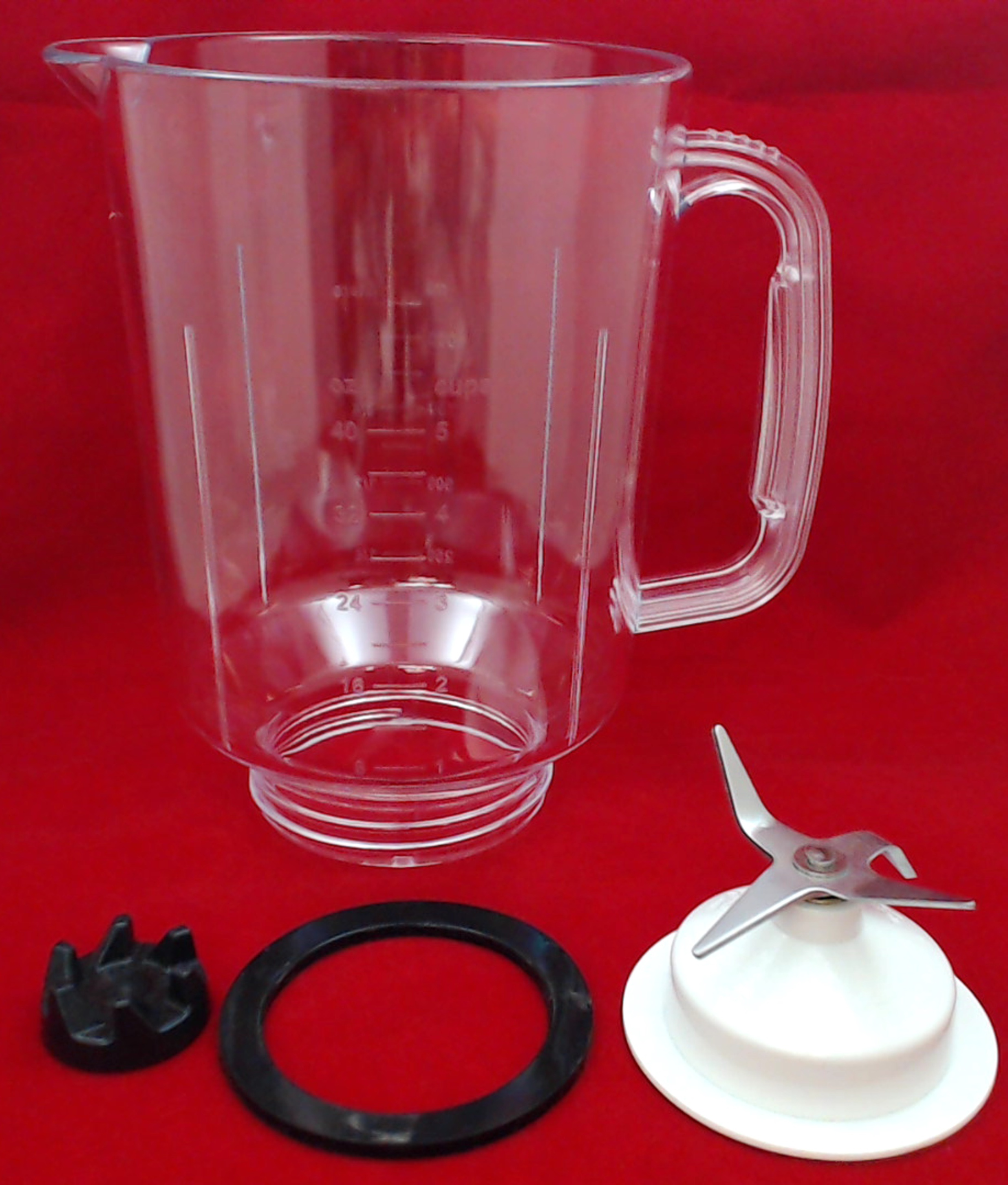 Plastic Blender Jar Repair Kit For Kitchenaid 9704200p 9704230 9704291 Ebay
