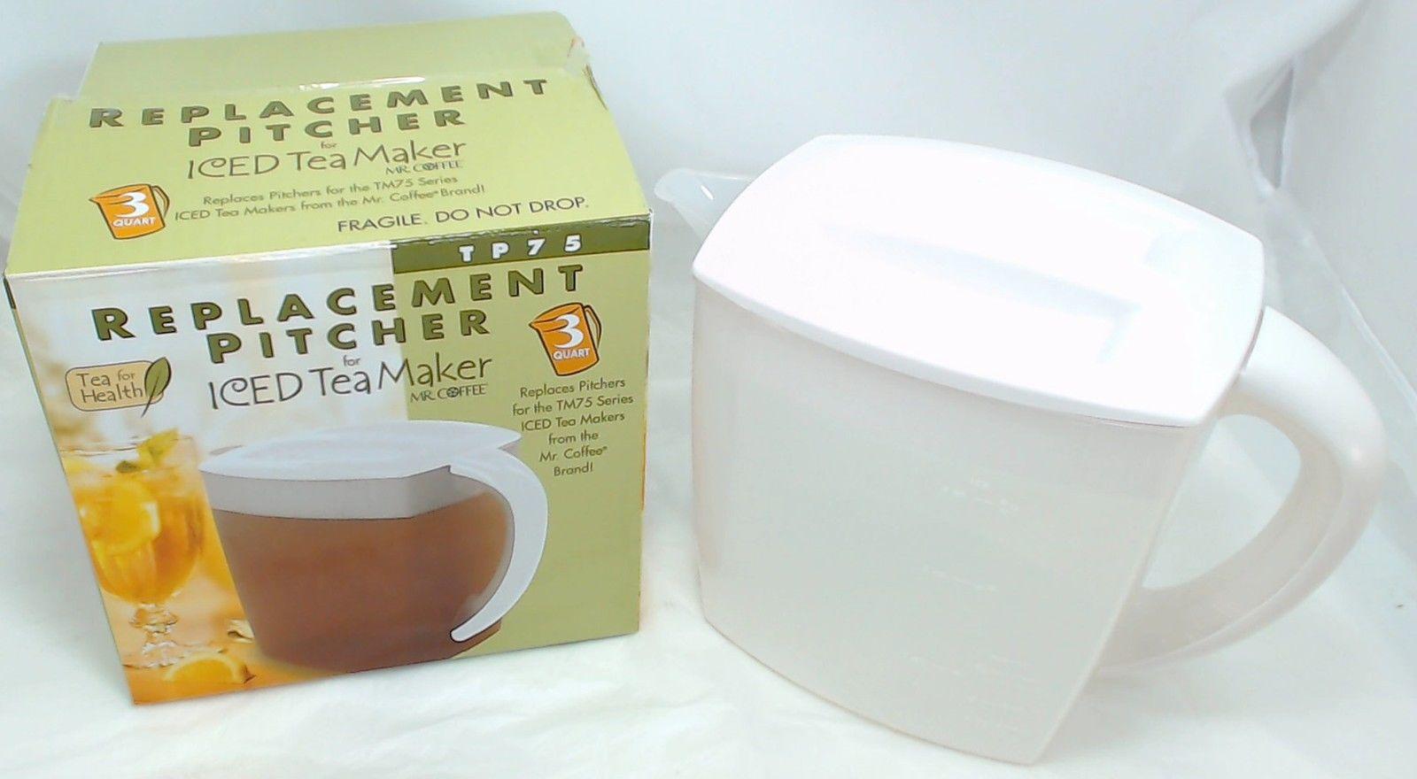 Mr Coffee Ice Tea Maker Pitcher 3 Qt Tm75 Tp75 Ebay