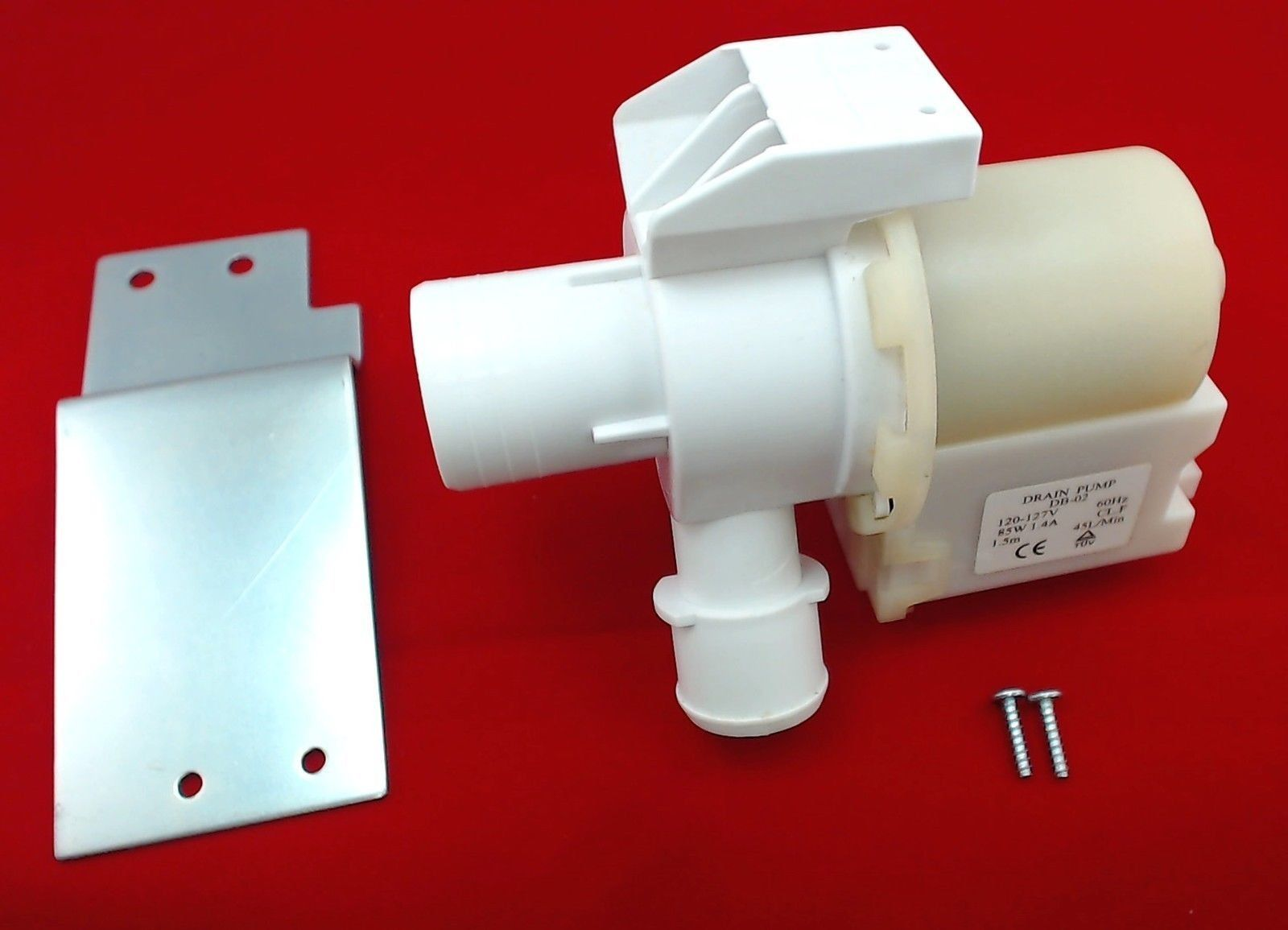 Washer drain pump motor for general electric ap5803461 for How to test a washer drain pump motor