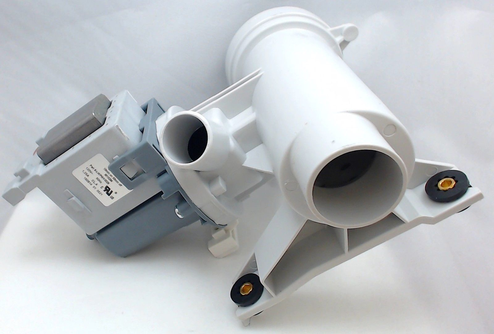 Washer drain pump motor for general electric ap4324598 for Washing machine pump motor