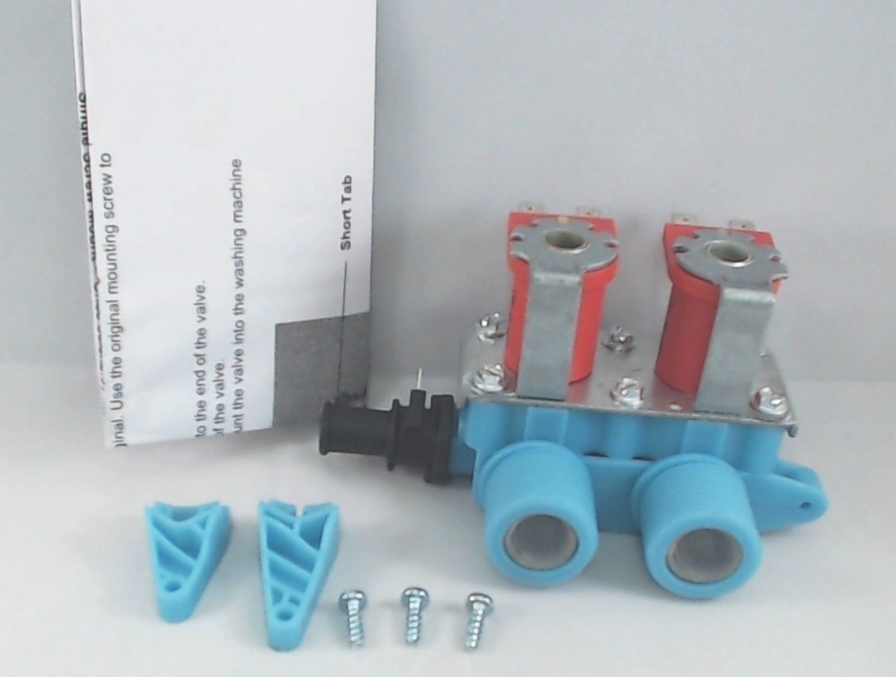 Washer Water Valve with Thermistor, for Whirlpool, AP3175369, PS731801, 3979346 eBay