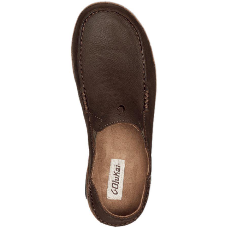 olukai mens moloa leather slip on shoe ebay