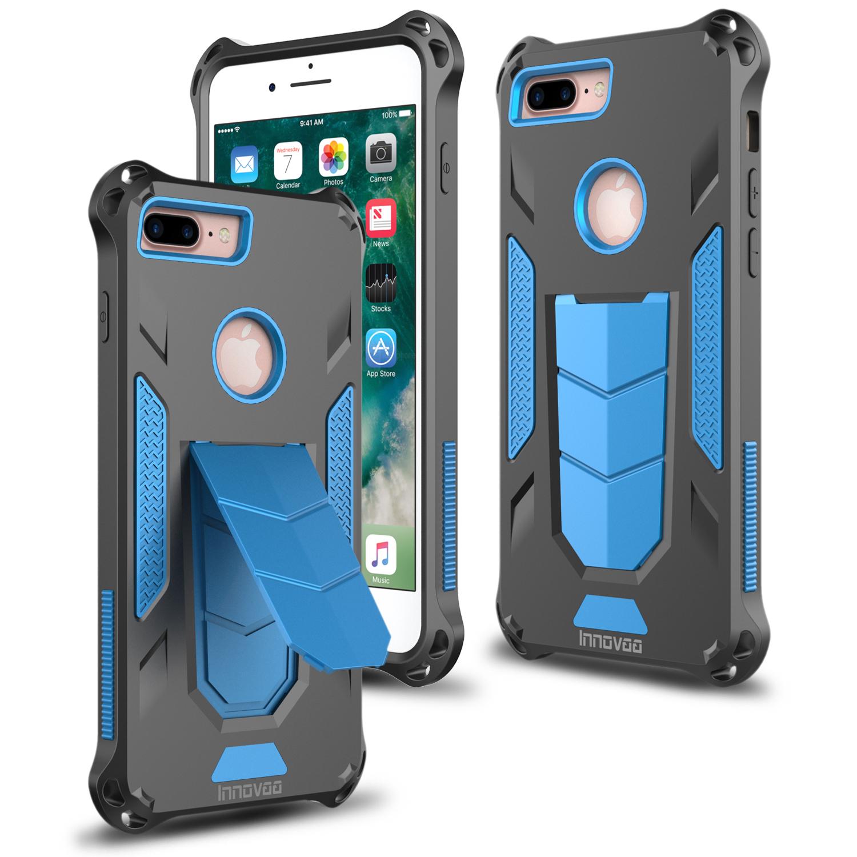 apple iphone 7 plus case innovaa robust armor kickstand