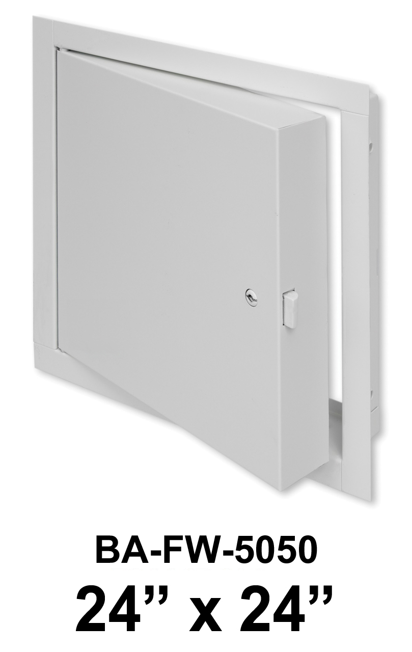 """24"""" x 24"""" Fire Rated Insulated Access Door with Flange - BEST"""