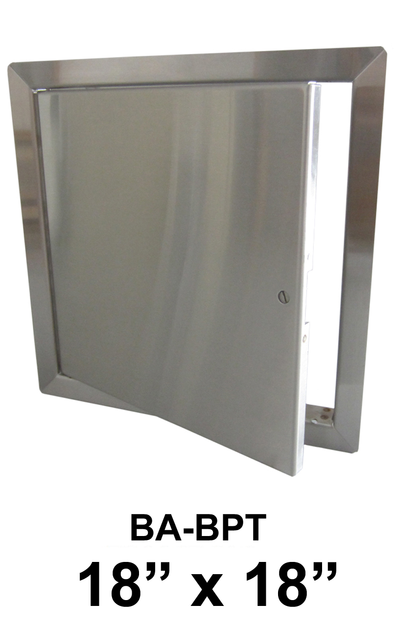 """18"""" x 18"""" Stainless Steel Flush Non-Rated Access Door - BEST"""