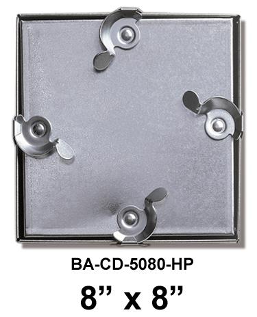 """8"""" x 8"""" High Pressure Duct Door - BEST"""