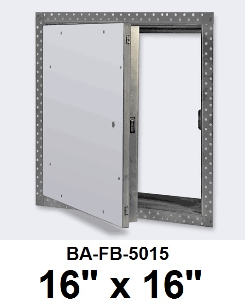 16″ x 16″ Fire Rated Un-Insulated Recessed Door for Drywall – BEST