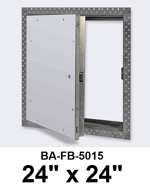 24″ x 24″ Fire Rated Un-Insulated Recessed Door for Drywall – BEST