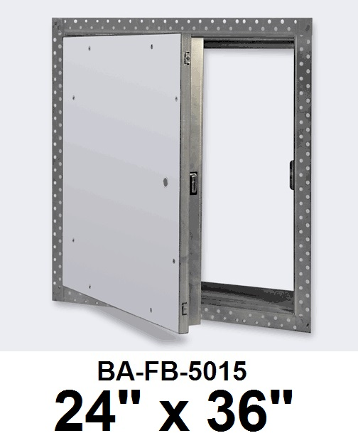 24″ x 36″ Fire Rated Un-Insulated Recessed Door for Drywall – BEST
