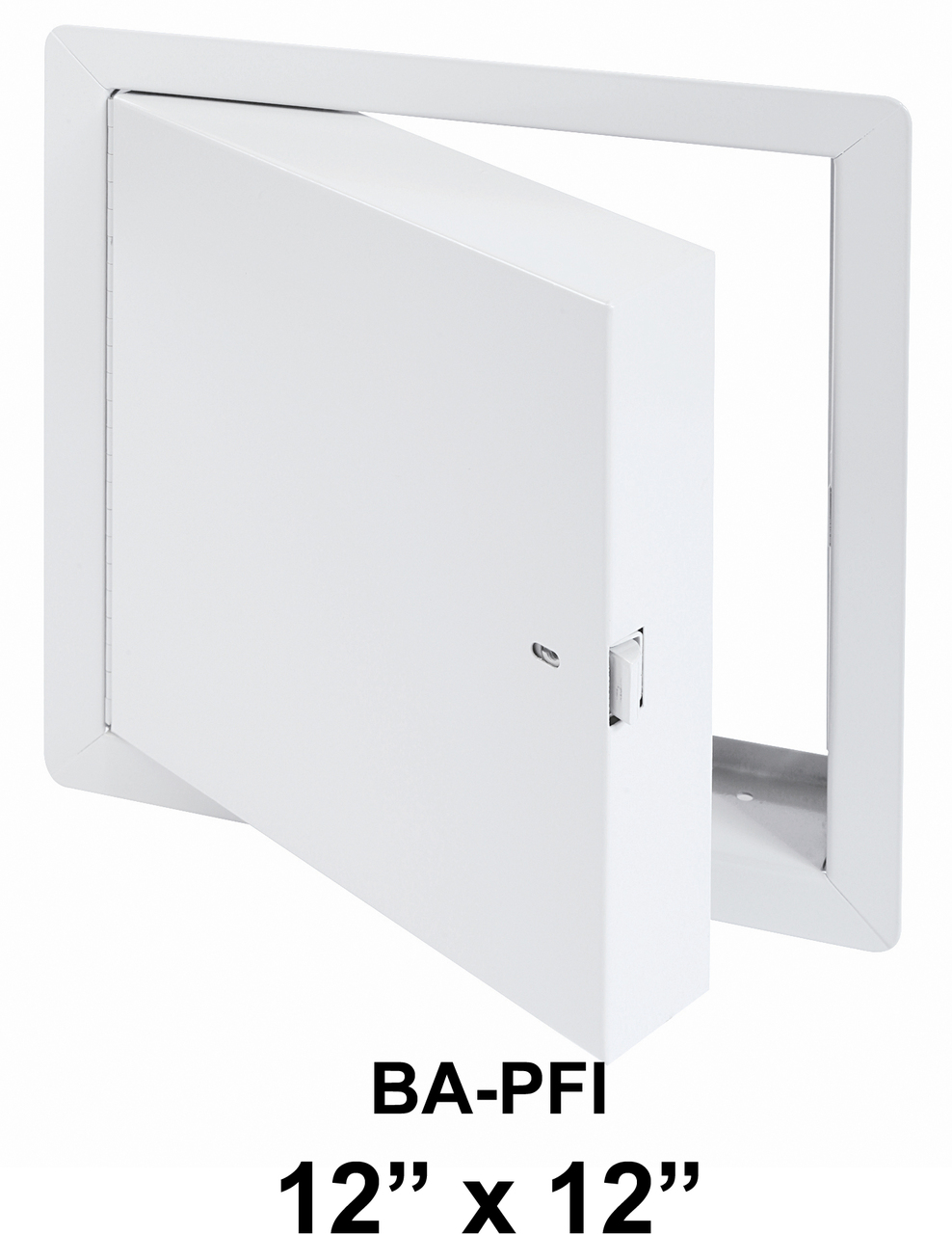 Fire Access Doors BA-PFI 12 x 22 Insulated with Flange - BEST