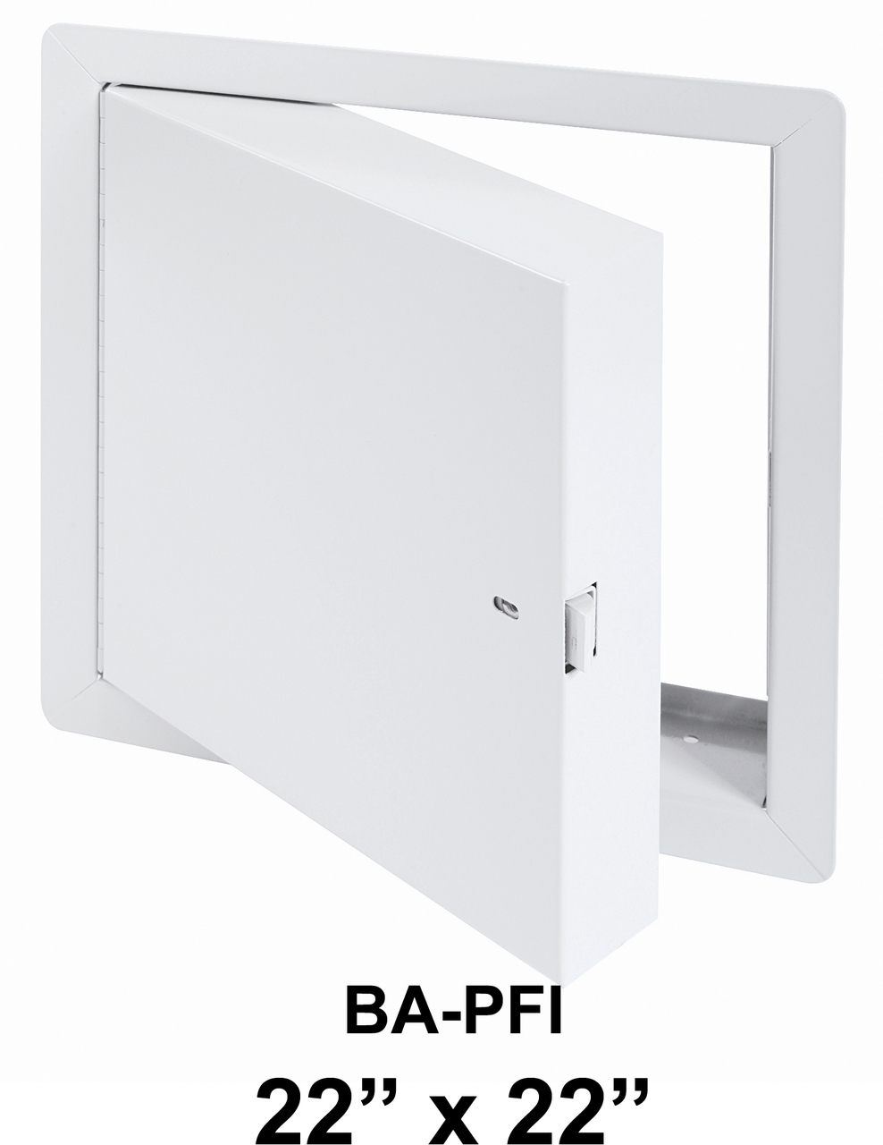 Rated Access Doors BA-PFI Fire Rated Insulated with Flange 22 x 22 – BEST