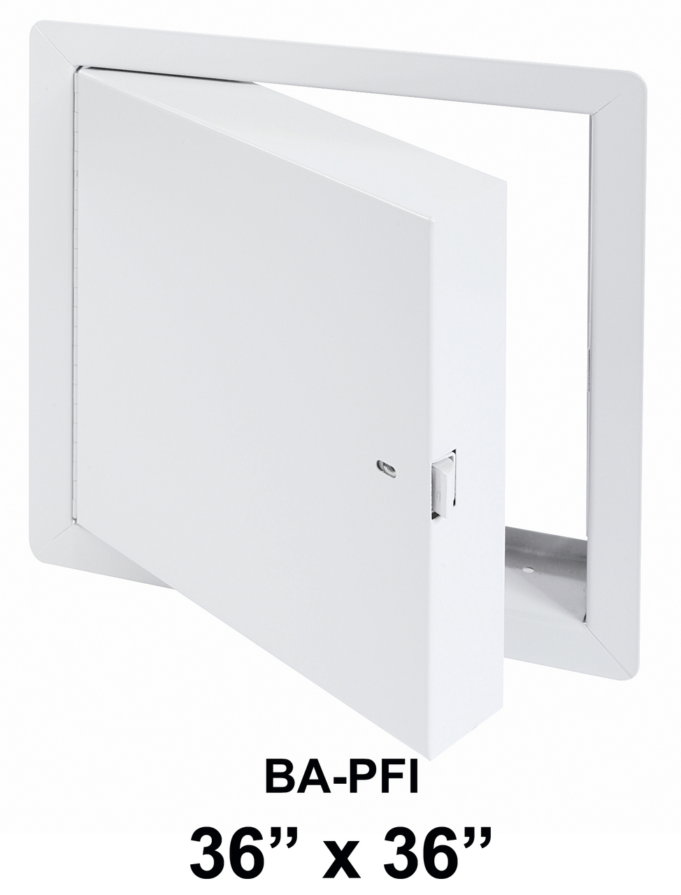 Rated Access Doors BA-PFI Fire Rated Insulated with Flange 36″ x 36″ – BEST