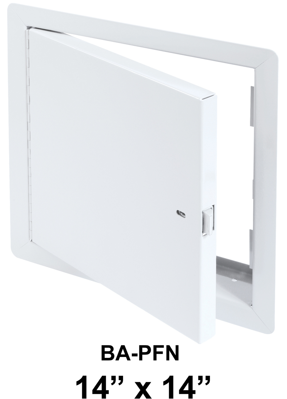 Fire Rated Access Panel 14 x 14 BA-PFN Un-Insulated with Flange - BEST