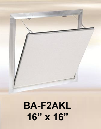 """16"""" x 16"""" Drywall Inlay Air/Dust resistant Access Panel with detachable hatch - BEST"""
