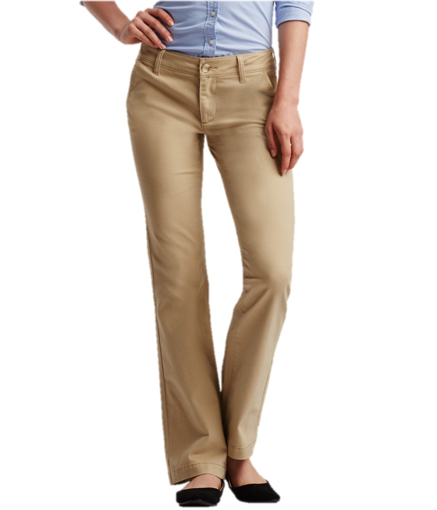 Beautiful Wrangler Women39s Khaki Plain Front Work Pant WP71KH