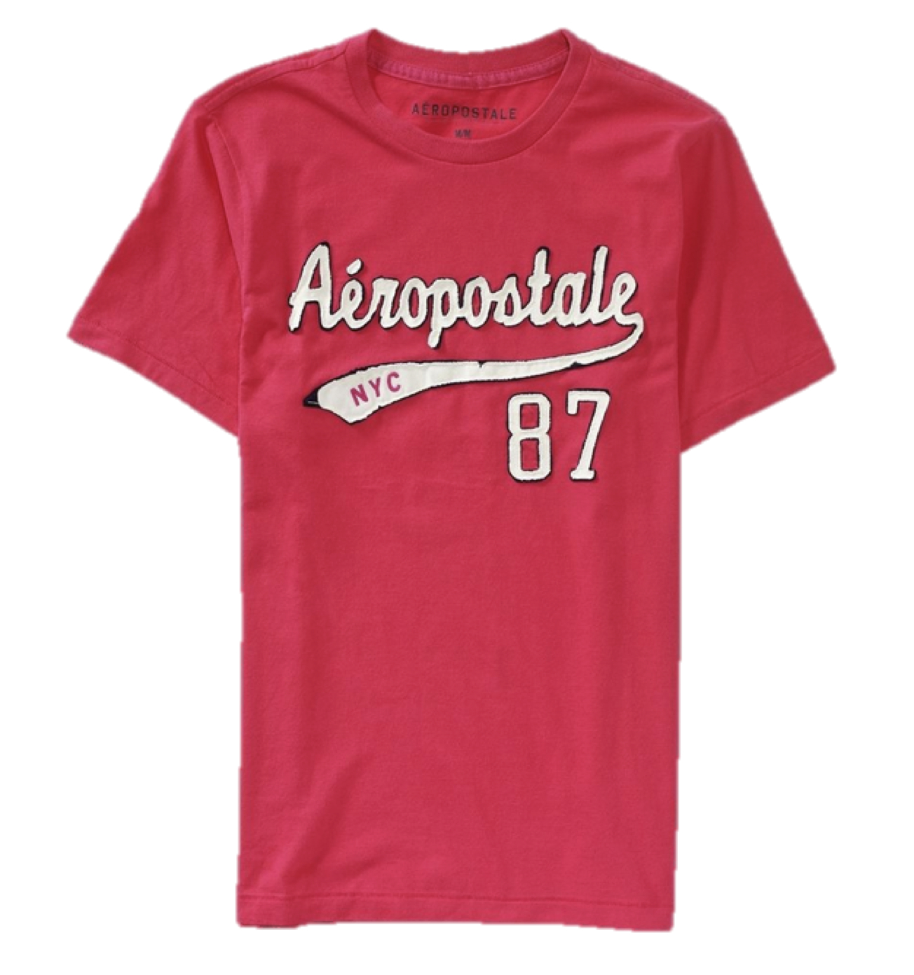Aeropostale mens t shirt embroidered logo aero nyc tee top