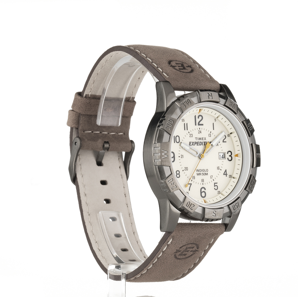Rugged outdoor watch 50m water resistant 24 hour w date timex expedition ebay for Outdoor watches