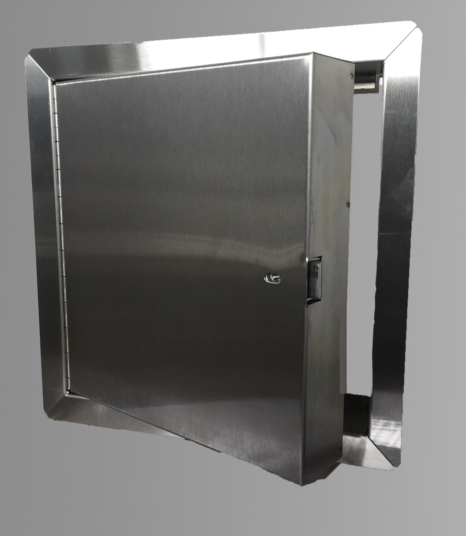48 X 48 Fire Rated Insulated Access Door With Flange Stainless Steel