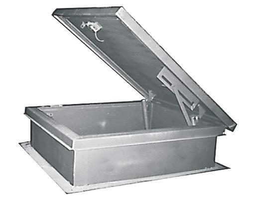 Mifab RHG Galvanized Steel Roof Hatch 24 x 30