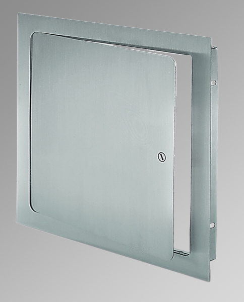 """24"""" x 24"""" Universal Flush Premium Access Door with Flange - Stainless Steel - Acudor"""