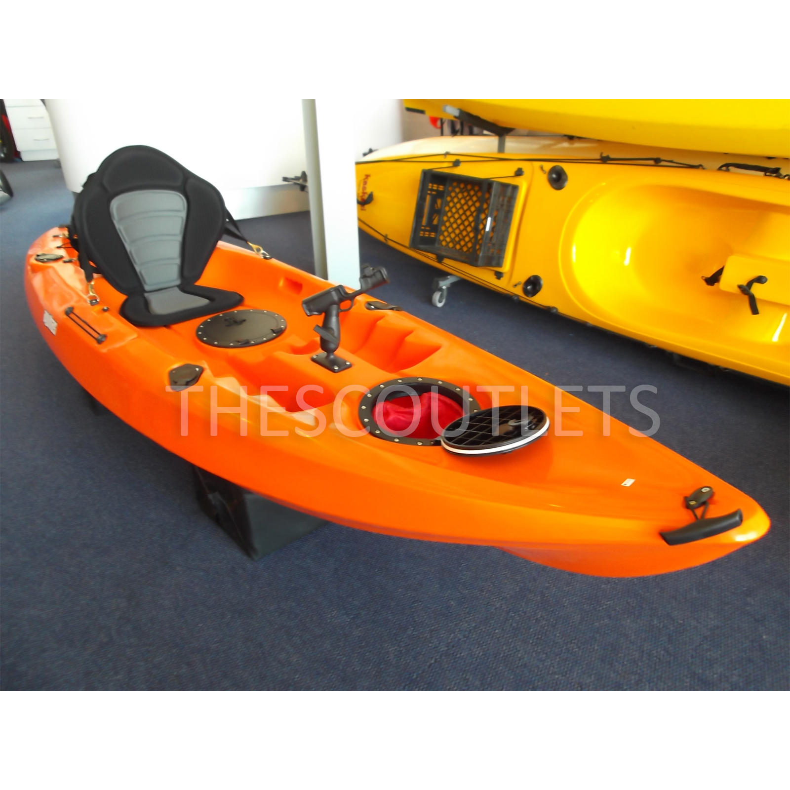 how to install sit on top kayak seat