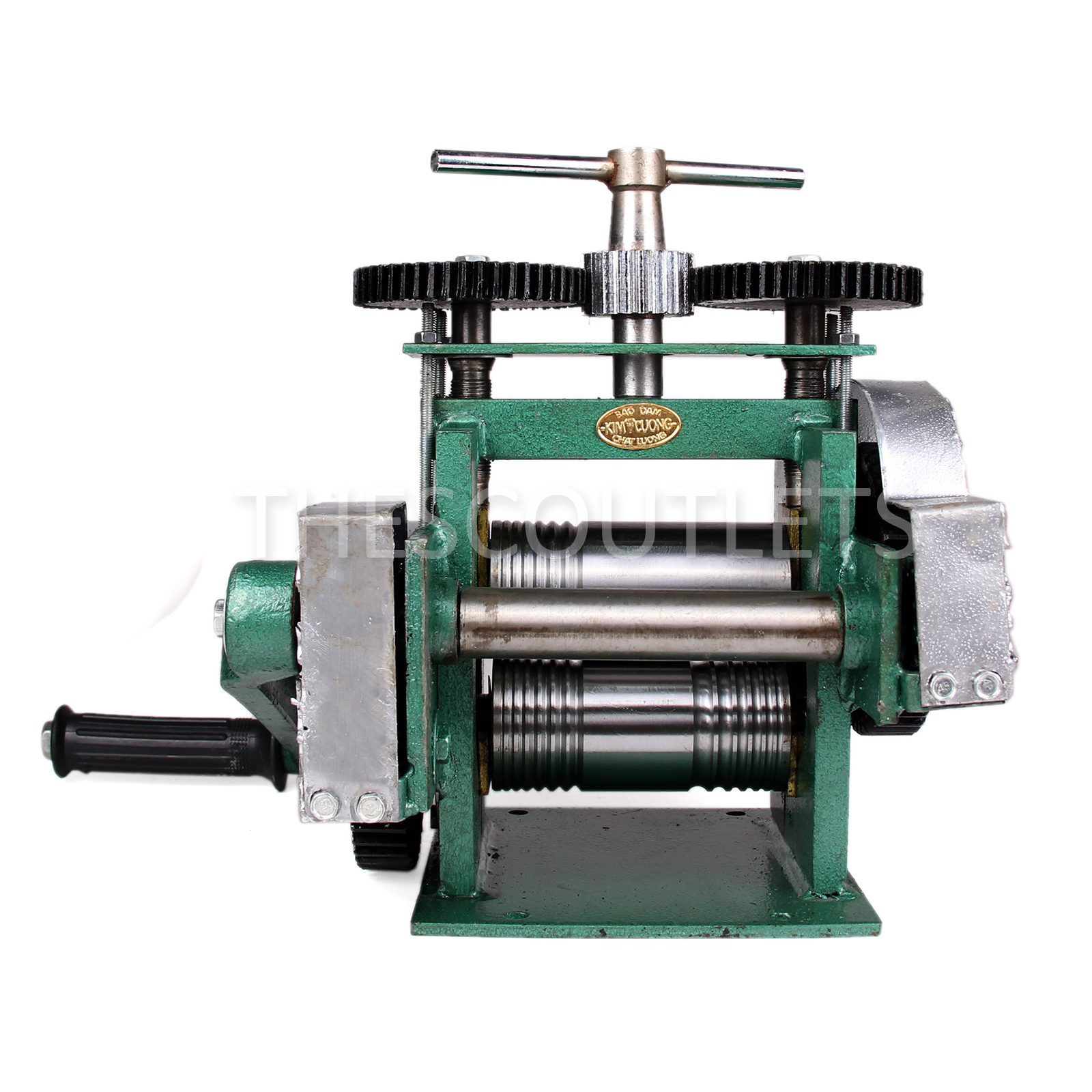 manual combination rolling mill machine jewelry press