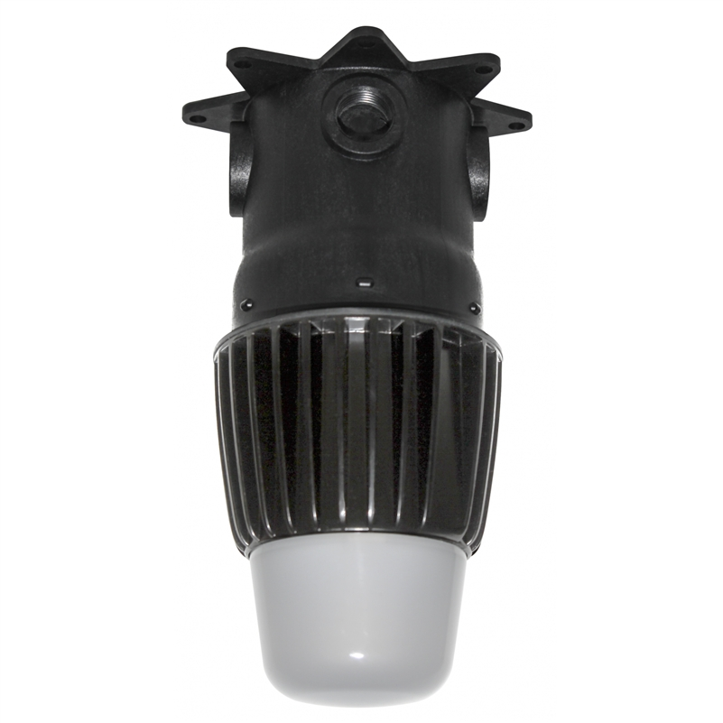 Led Light Fixtures Damp Location: ENGINEERED PRODUCTS 15910 14W LED Utility Light Fixture