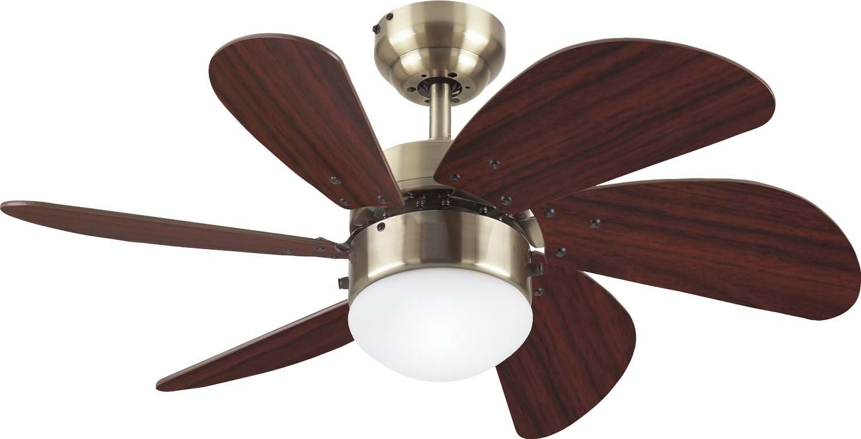 westinghouse 7824865 30 turbo swirl ceiling fan w light antique brass ebay. Black Bedroom Furniture Sets. Home Design Ideas