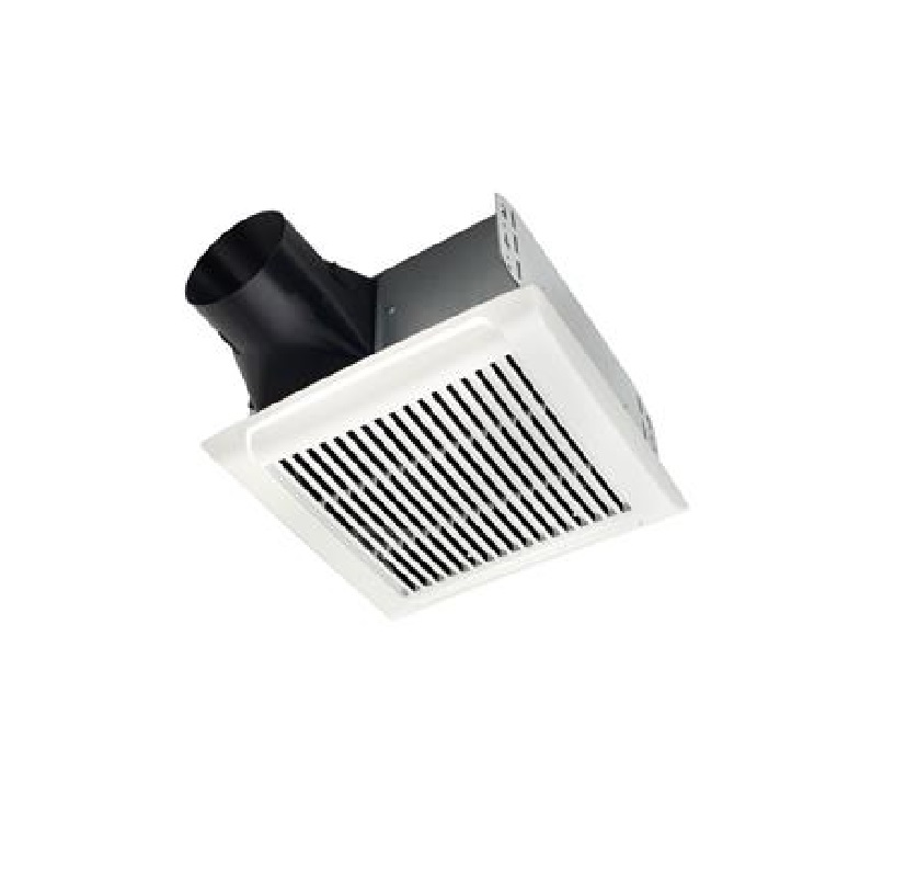 Nutone Invent Series 80 Cfm Ceiling Bathroom Exhaust Fan: NUTONE AEN110 InVent Single Speed Fan, 110 CFM 1.3 Sones