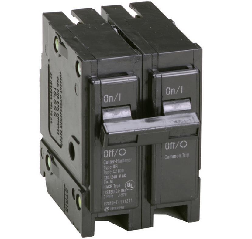 Cutler Hammer Br260 Eaton Molded Case Circuit Breaker 2 Pole 60 Amp 120 Volt