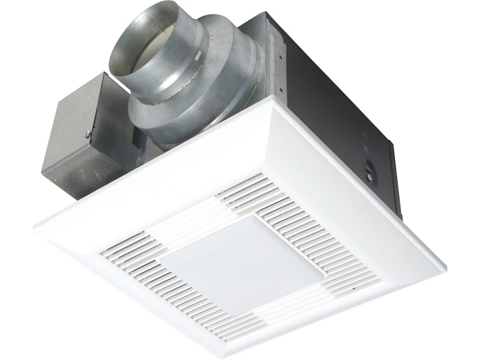 panasonic fv 08vql6 whisperlite 80 cfm ventilation fan with light. Black Bedroom Furniture Sets. Home Design Ideas